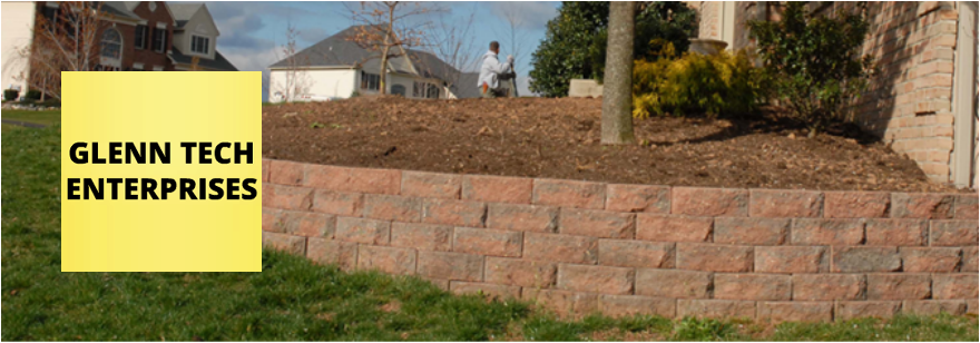 photo retaining walls installation asheville nc