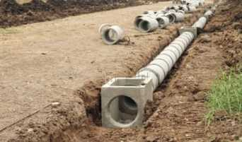 photo drainage systems contractor asheville nc