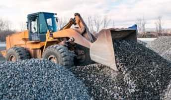 photo gravel stone sand mulch delivery asheville nc